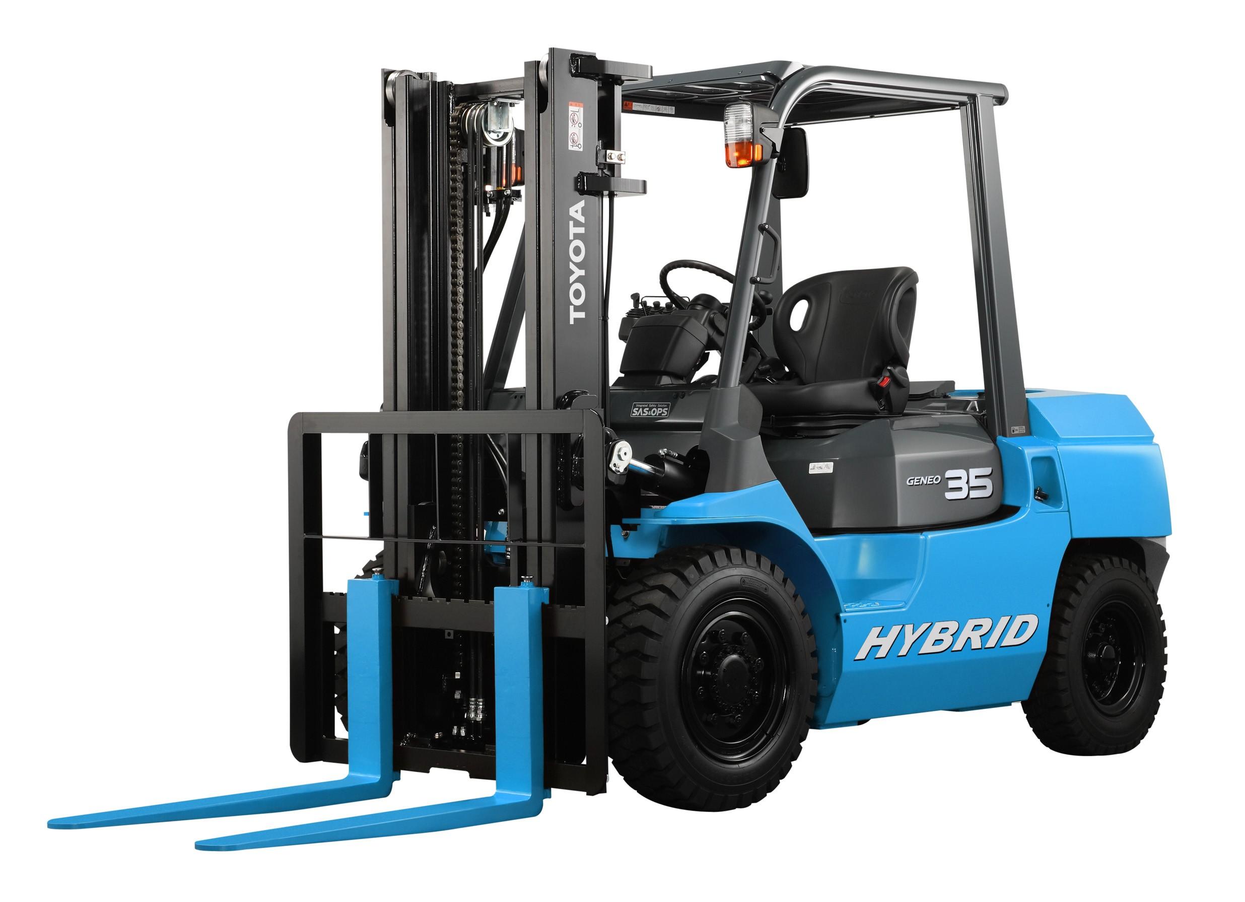 Hybrid Lift Truck