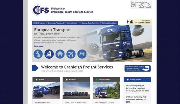 Internet Services: Internet Freight Services