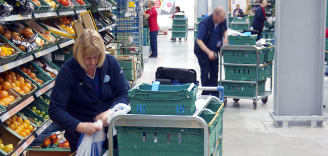 Tesco builds dot com only store for grocery home shopping fulfilment warehouse logistics news - Home personal shopper ...