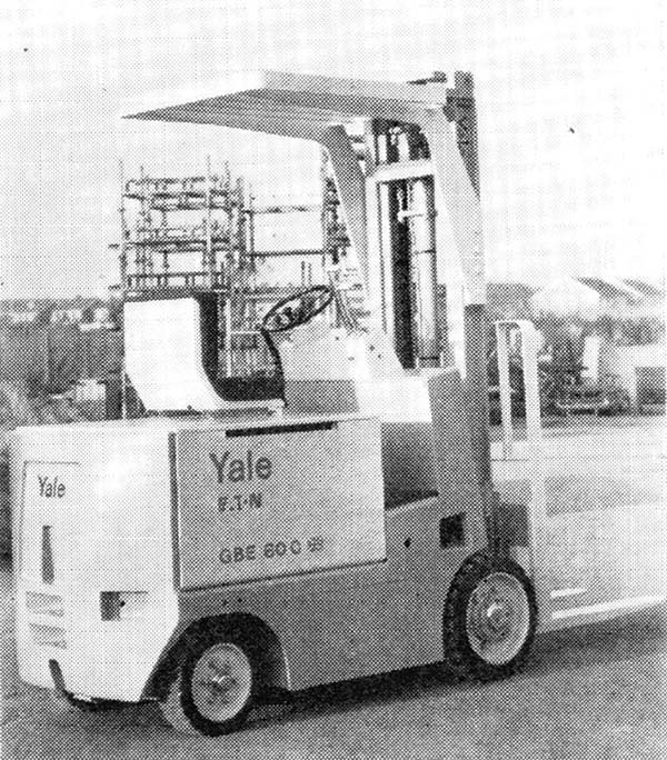 Writer for hire forklift