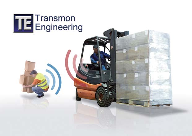 New Transmon Itech Forklift Safety Systems At Imhx