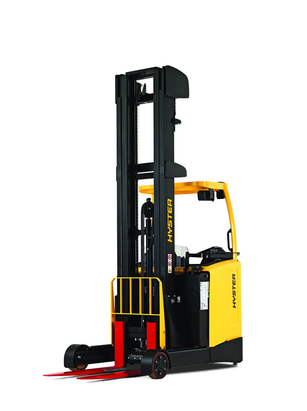 Lever Reach Truck : New hyster reach truck to be produced at masate plant