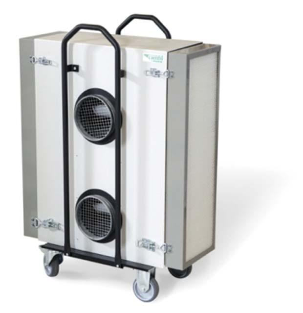 Повышайте производительность, на предприятии используя очиститель воздуха CamCleaner